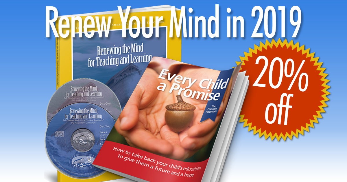 Renew your mind in 2019